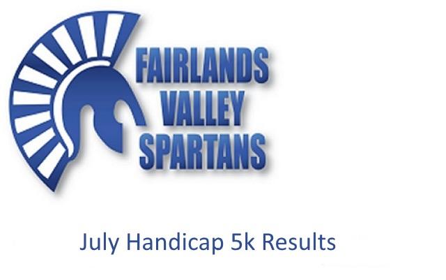 July Handicap 5k