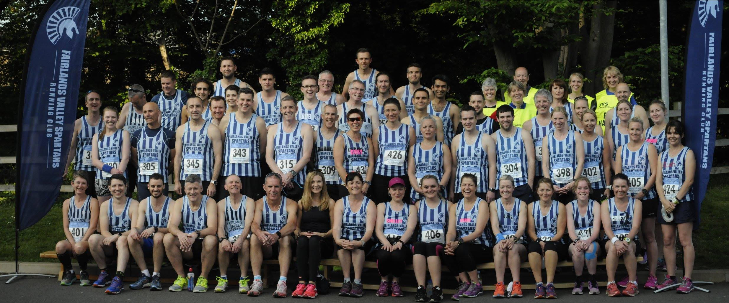 The Spartans at Stevenage 10k 2017