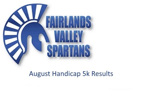 August Handicap 5k