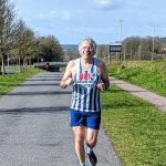 Jim Brown FVS virtual Fly Half Marathon on 14 March 2021 Martins Way by Penny Schenkel