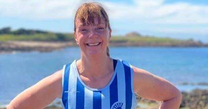 Judy King FVS first parkrunner